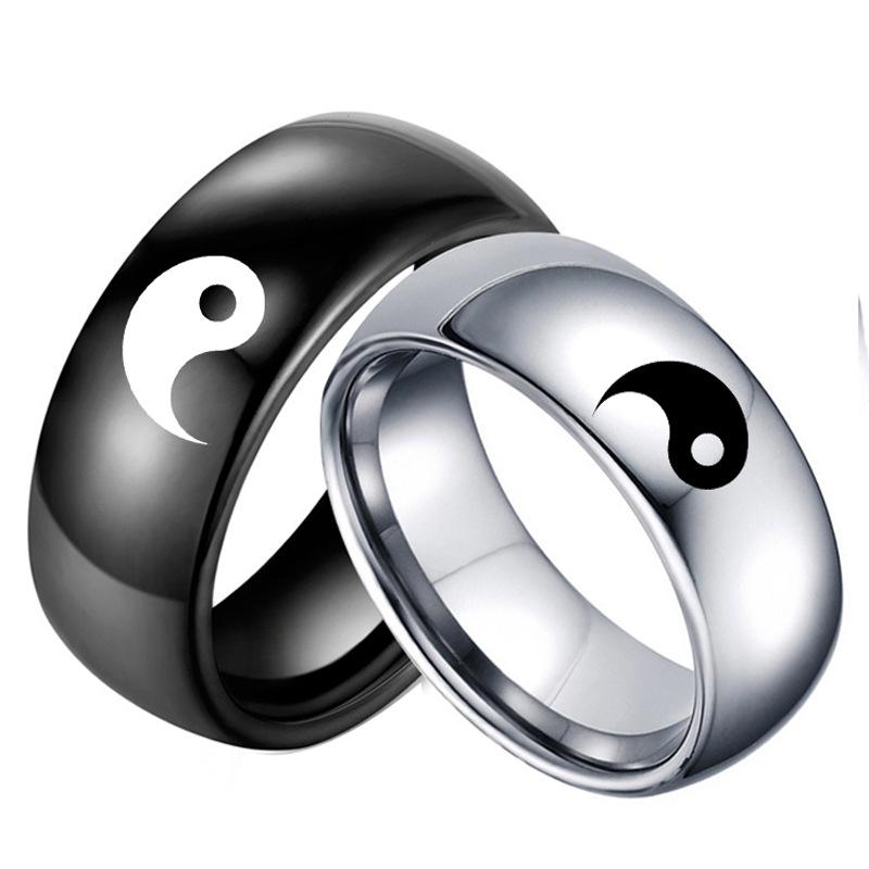 кольца инь янь
