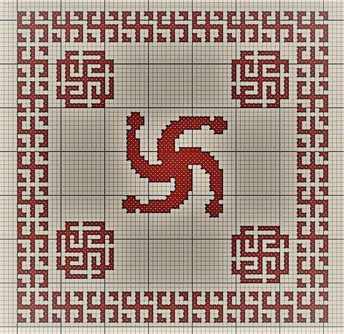 Вышивка Символ Рода